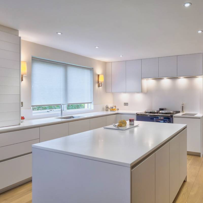 kitchen_hacker_island_white kitchen_corian_aga